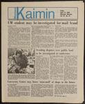 Montana Kaimin, April 12, 1985