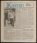 Montana Kaimin, April 17, 1985