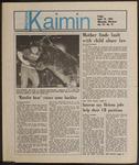 Montana Kaimin, April 19, 1985