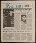 Montana Kaimin, April 23, 1985