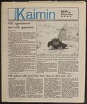 Montana Kaimin, April 24, 1985