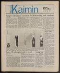 Montana Kaimin, May 15, 1985