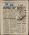 Montana Kaimin, October 1, 1985