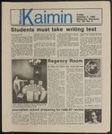 Montana Kaimin, October 4, 1985