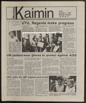 Montana Kaimin, November 1, 1985