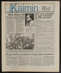Montana Kaimin, November 7, 1985