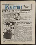 Montana Kaimin, November 8, 1985