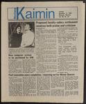 Montana Kaimin, November 12, 1985