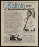Montana Kaimin, November 26, 1985