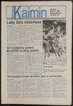 Montana Kaimin, March 13, 1986