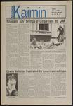 Montana Kaimin, April 8, 1986