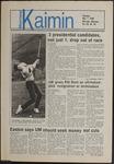 Montana Kaimin, May 1, 1986