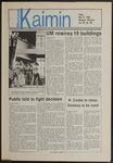 Montana Kaimin, May 9, 1986