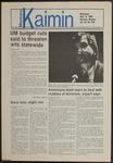 Montana Kaimin, May 14, 1986
