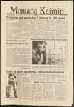 Montana Kaimin, September 25, 1986