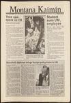 Montana Kaimin, September 30, 1986