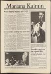 Montana Kaimin, October 1, 1986