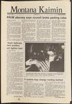 Montana Kaimin, October 3, 1986