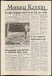 Montana Kaimin, October 16, 1986