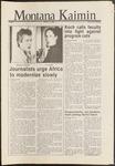 Montana Kaimin, October 17, 1986