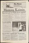 Montana Kaimin, October 28, 1986