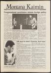 Montana Kaimin, October 29, 1986