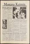 Montana Kaimin, October 31, 1986