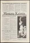 Montana Kaimin, November 6, 1986