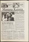 Montana Kaimin, November 7, 1986