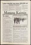 Montana Kaimin, November 12, 1986