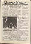Montana Kaimin, November 13, 1986