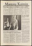 Montana Kaimin, November 20, 1986