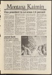 Montana Kaimin, November 21, 1986