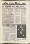 Montana Kaimin, November 25, 1986