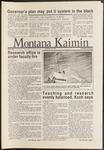 Montana Kaimin, November 26, 1986