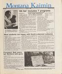Montana Kaimin, January 8, 1987