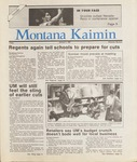 Montana Kaimin, January 9, 1987