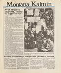 Montana Kaimin, January 13, 1987