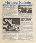 Montana Kaimin, January 14, 1987