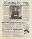 Montana Kaimin, January 15, 1987