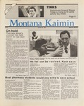 Montana Kaimin, January 16, 1987