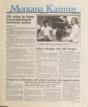 Montana Kaimin, February 5, 1987