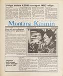 Montana Kaimin, February 10, 1987