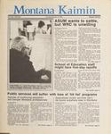 Montana Kaimin, February 19, 1987