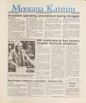 Montana Kaimin, February 25, 1987