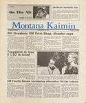Montana Kaimin, February 27, 1987