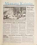 Montana Kaimin, March 5, 1987