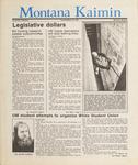 Montana Kaimin, March 10, 1987
