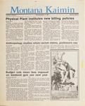 Montana Kaimin, March 11, 1987