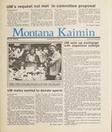 Montana Kaimin, March 13, 1987